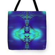 Lantern Of Sapphire Tote Bag