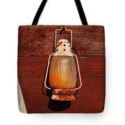 Lantern On Red Tote Bag