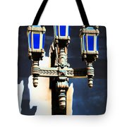 Lanterns Out Of The Blue Tote Bag