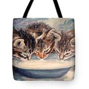 Lap Of Luxury Kittens Tote Bag
