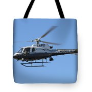 Lapd In Flight Tote Bag