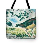 Lapwings Study Of Migration Museum Of Paris Tote Bag
