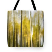 Larch Grove Blurred Tote Bag