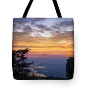 Larch Mountain Sunset Tote Bag