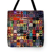 Larg Blocks Digital - Various Colors I Tote Bag