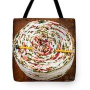 Large Ball Of Colorful Yarn Tote Bag