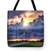 Large Cloud Tote Bag
