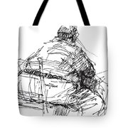 Large Guy Tote Bag