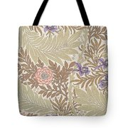 Larkspur Design Tote Bag