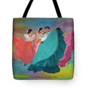 Las Bailarinas De Costa Rica Tote Bag