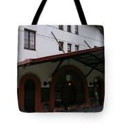 Las Planas Train Station Tote Bag