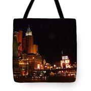 Las Vegas At Midnight Tote Bag