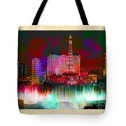 Las Vegas Bellagio Painting Tote Bag