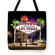 Las Vegas Sign Tote Bag