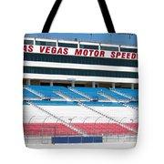Las Vegas Speedway Grandstands Tote Bag