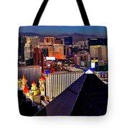 Las Vegas Sundown Tote Bag
