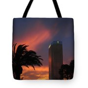 Las Vegas Sunset With Trump Tower Tote Bag