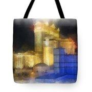 Las Vegas The Palace Photo Art Tote Bag
