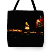 Las Vegas Vintage Signs Tote Bag