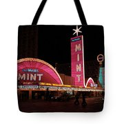 Las Vegas With Watercolor Effect Tote Bag