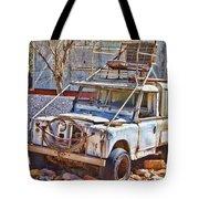 Lasseter Land Rover Tote Bag