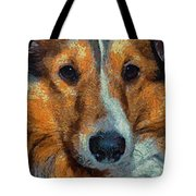 Lassie - Rough Collie Tote Bag