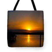 Last Bit Of Light Tote Bag