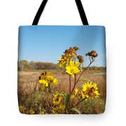 Last Blooms Before Fall Tote Bag
