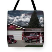 Last Chance Garage Final Tote Bag