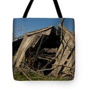 Last Gasp Of An Old Barn Streetman Texas Tote Bag