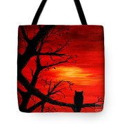 Last Leaves Of Autumn Tote Bag