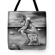 Last Man In The World Edit 4 Tote Bag