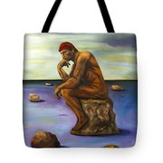 Last Man In The World Edit 5 Tote Bag