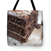 Last Piece Of Chocolate Cake Tote Bag