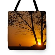 Last Rays Of The Day Tote Bag