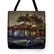 Last Stop Tarpon Springs Tote Bag