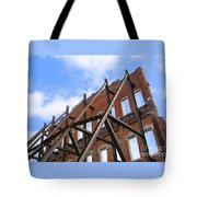 Last Wall Standing Tote Bag