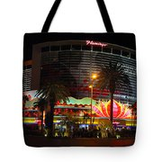 Las Vegas - The Flamingo Panoramic Tote Bag