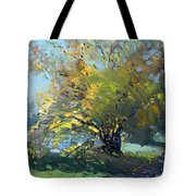 Late Afternoon By The River Tote Bag