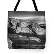 Late Afternoon In The Badlands Tote Bag