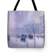 Late Afternoon - New York Winter Tote Bag