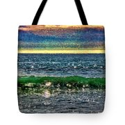 Late Afternoon Ocean Tote Bag