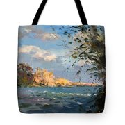 Late Afternoon On Goat Island Tote Bag