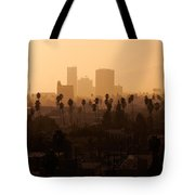Late Afternoon Over Hollywood Tote Bag