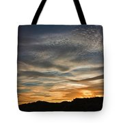 Late Afternoon Sky Tote Bag