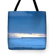 Late Afternoon Storm Antarctica Tote Bag
