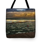 Late Afternoon Swimmer Tote Bag