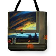 Late Autumn Breeze By Christopher Shellhammer Tote Bag