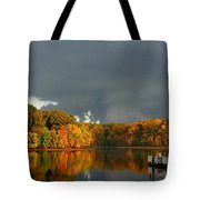 Late Autumn Storm Tote Bag