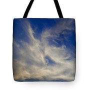 Late Evening Sky Tote Bag